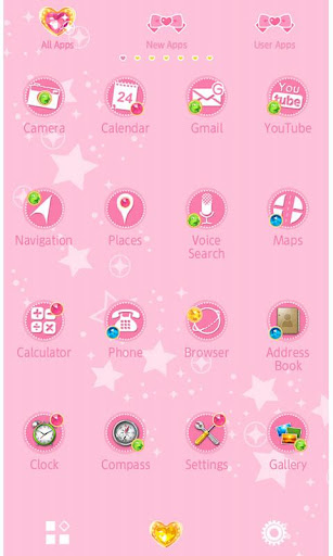 charmystar&lovelyheart Theme 1.0 Windows u7528 2