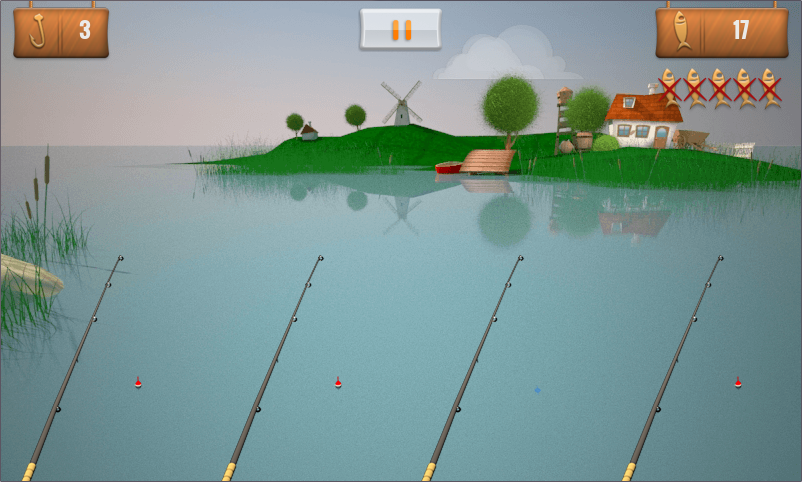 4-lines fishing - screenshot