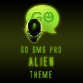 GO SMS Pro Alien theme