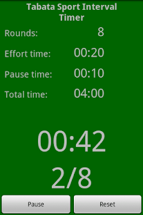 Tabata Sport Interval Timer - screenshot thumbnail