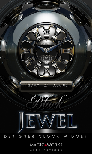 Jewel designer Clock Widget