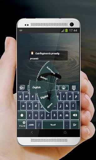 跳傘 GO Keyboard Theme