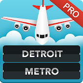 Detroit Airport Flights Pro