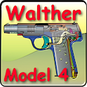 Walther pistol Model 4 icon