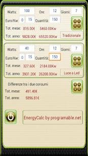 Calcolatrice Energetica - screenshot thumbnail