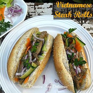 VIETNAMESE STEAK ROLLS Recipe