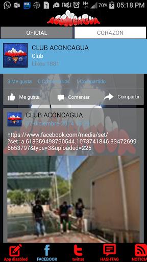 CLUB ACONCAGUA