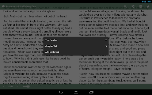 SlickPub - The EPUB Reader - screenshot thumbnail
