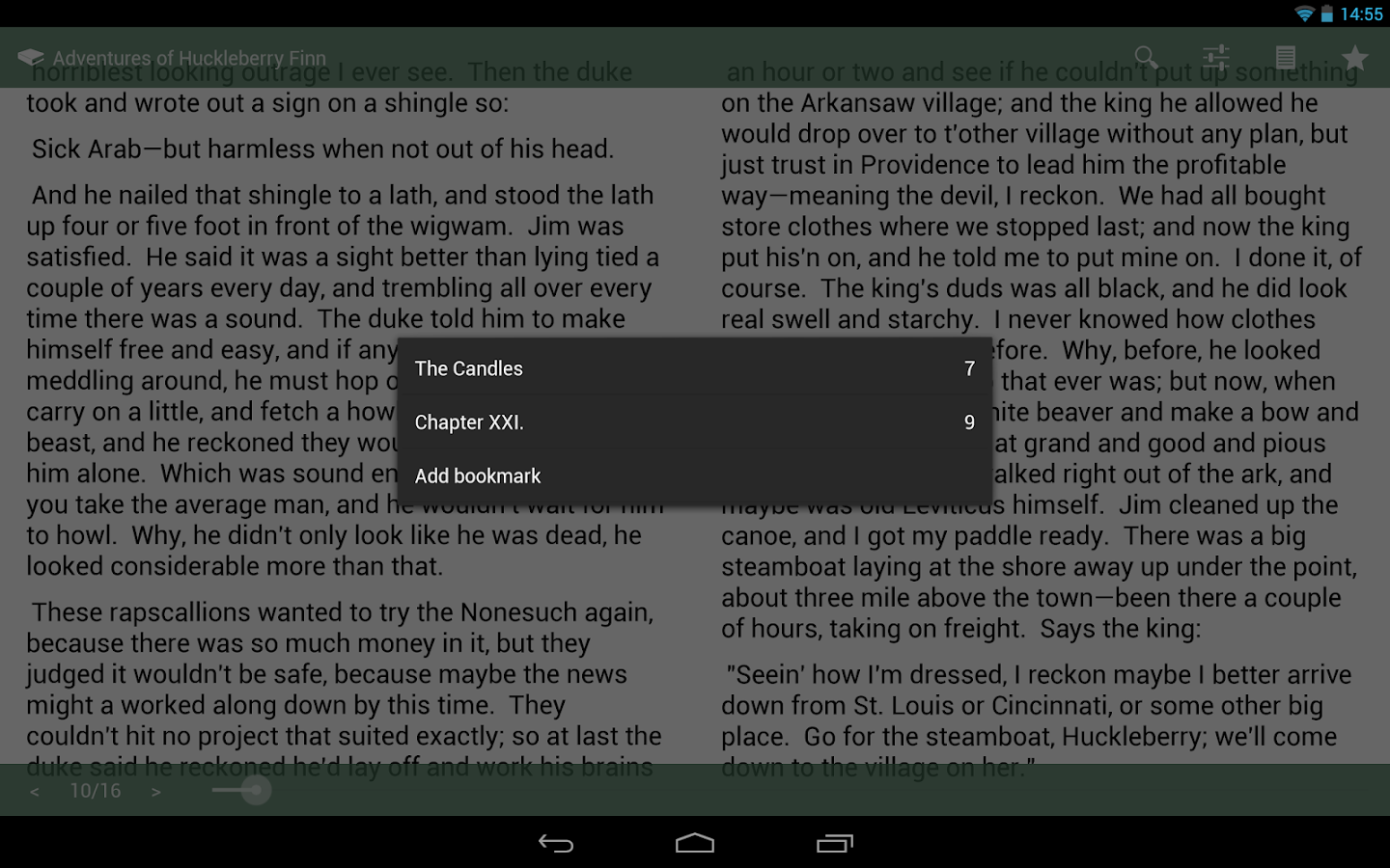 SlickPub - The EPUB Reader - screenshot