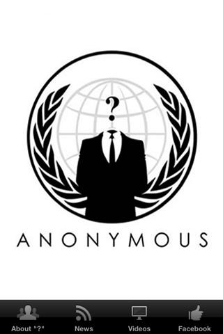 Anonymous Hacker Group - screenshot