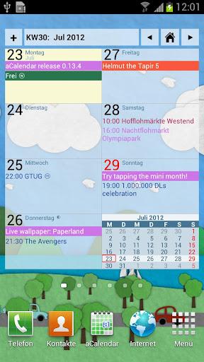 aCalendar+ Calendar & Tasks v1.10.3 APK