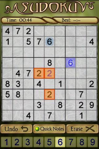 Sudoku Free 1.5 Screenshots 2