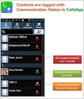 Screenshot of CallzApp