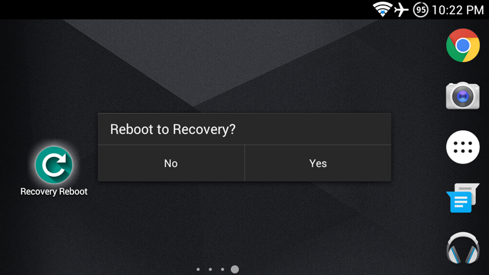 Recovery Reboot- screenshot