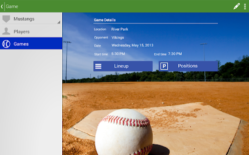 Today's Lineup - Baseball- screenshot thumbnail