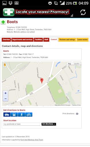 【免費健康App】Pharmacy Locator UK-APP點子