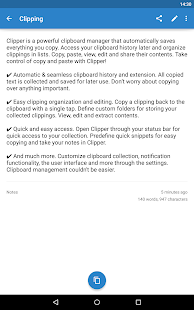 Clipper - Clipboard Manager - screenshot thumbnail