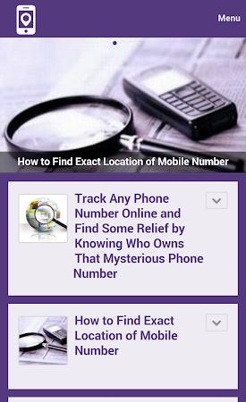 Mobile Number Tracker Tips 1.0 screenshot 9981