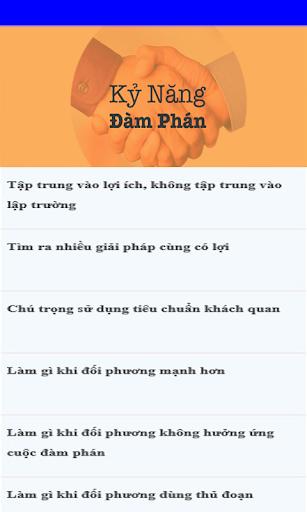ky nang dam phan