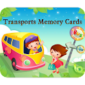 Transports Memory Cards Game logo