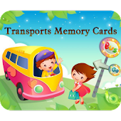 Transports Memory Cards Game