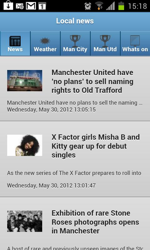 Manchester Local News - screenshot