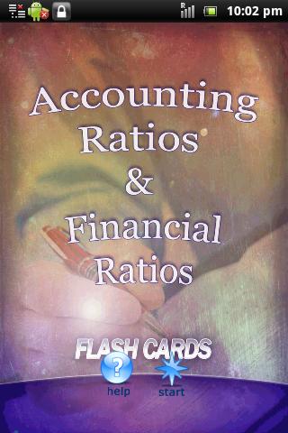 Financial Account Ratios I