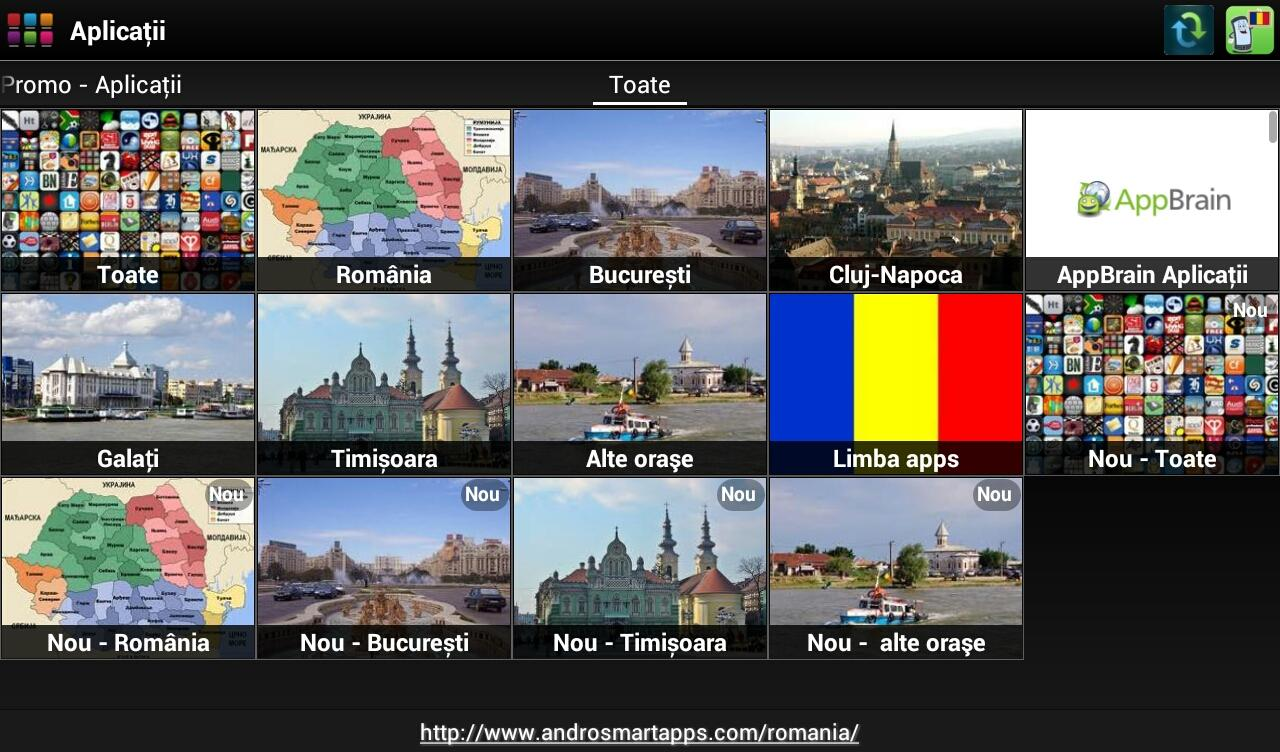 Romania Android - screenshot
