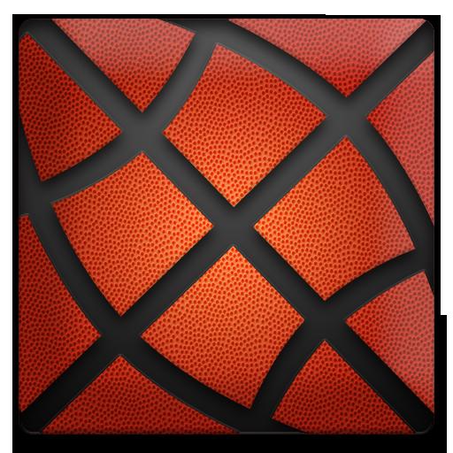 体育竞技のバスケットボールのショットフープ LOGO-記事Game
