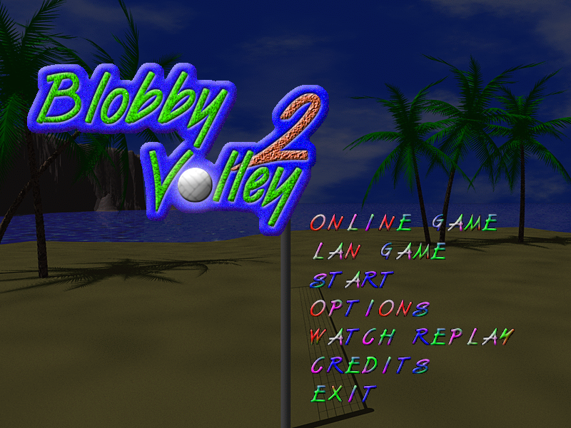 Blobby Volley 2 – Screenshot