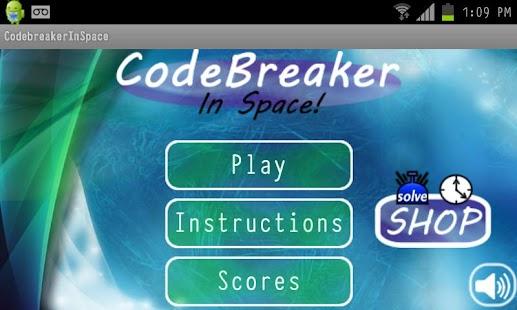 Code Breaker In Space- screenshot thumbnail