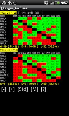 サッカー J1 & J2 データベースのおすすめ画像4
