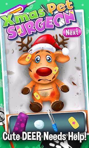 Christmas Pets Surgery Games
