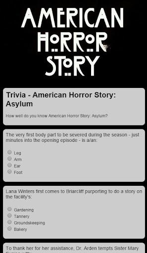 American Horror Story - Trivia