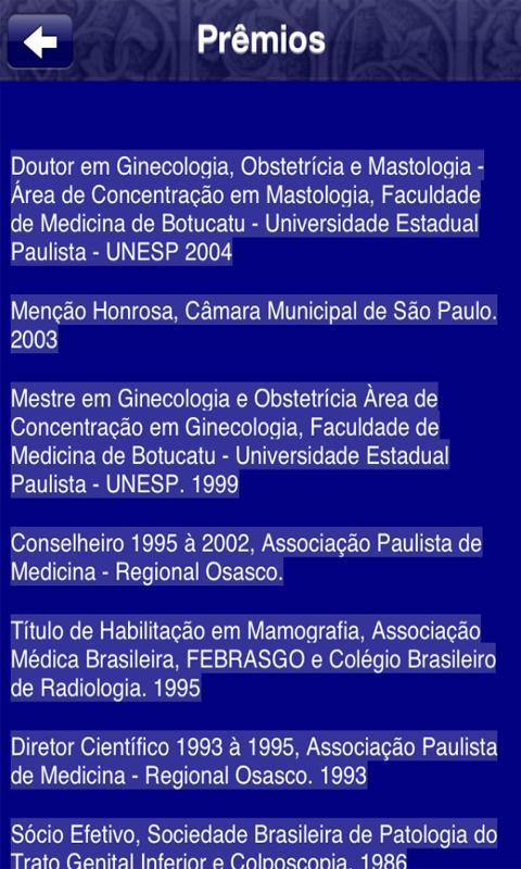 Dr Andrade- screenshot