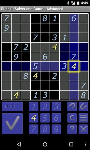 Sudoku Solver Game - Advanced