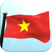 Vietnam Flag 3D Free Wallpaper