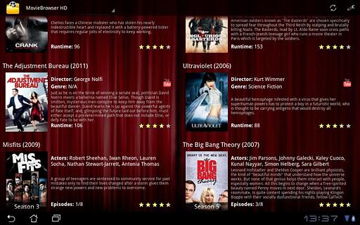 MovieBrowser HD 1.2.7.6 screenshots 2