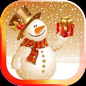 Winter Snowman live wallpaper