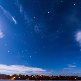 Counting Stars by Jane Chen - Landscapes Starscapes