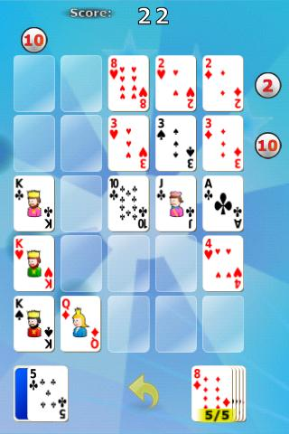 Poker Solitaire - screenshot