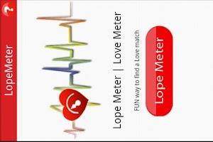 Screenshot of Lope Meter | Love Meter