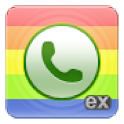 exDialer Light ICS Theme logo