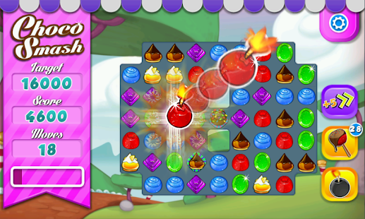 Choco Smash (Unlimited Lives) - screenshot thumbnail