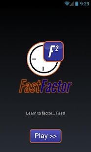 Fast Factor FREE -- Math Game- screenshot thumbnail