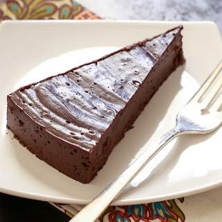 "Flourless ""Hot"" Chocolate Cake."