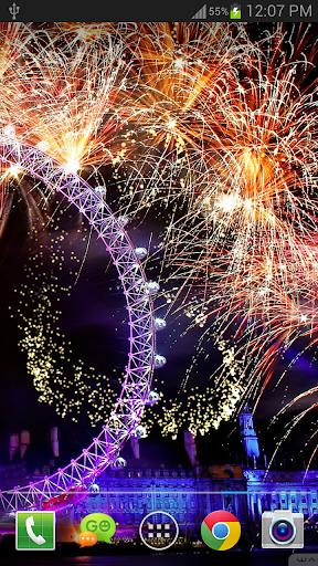 New Year Fireworks LWP (PRO) 1.3.1 screenshots 3