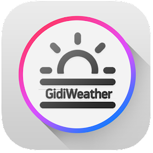 GidiWeather - Flat Weather UI