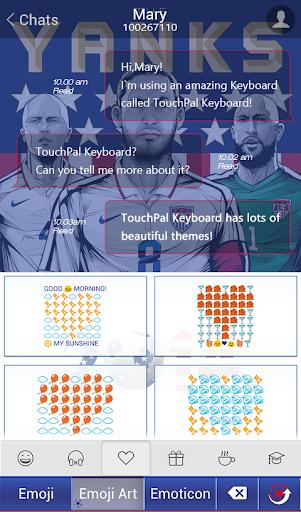 玩免費運動APP|下載TouchPal USA_FIFA Theme app不用錢|硬是要APP