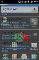 Screenshot of 3D Clock PORTUGAL FLAG LWP